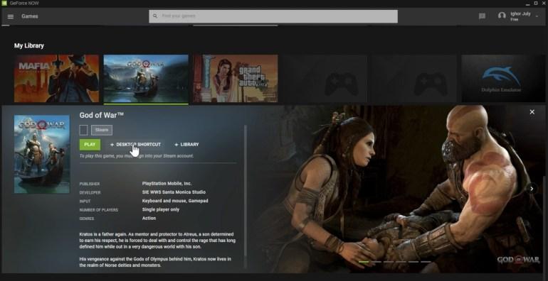 Украинский разработчик обнаружил на серверах NVIDIA GeForce NOW список из тысяч игр, включая ПК-версию God of War и ремастер Half-Life 2