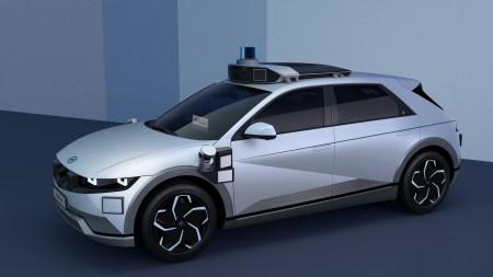 Motional и Hyundai представили автономное «роботакси» на основе электрокроссовера Ioniq 5, его коммерческое использование начнется с 2023 года