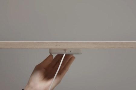 IKEA анонсировала встраиваемую в мебель беспроводную зарядку Qi за 40 долларов — она крепится под столом