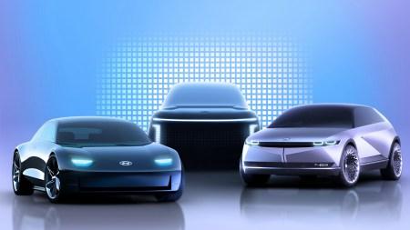 Hyundai показал, как будет выглядеть новый крупный электрокроссовер Hyundai Ioniq 7, премьера которого запланирована на 2022 год