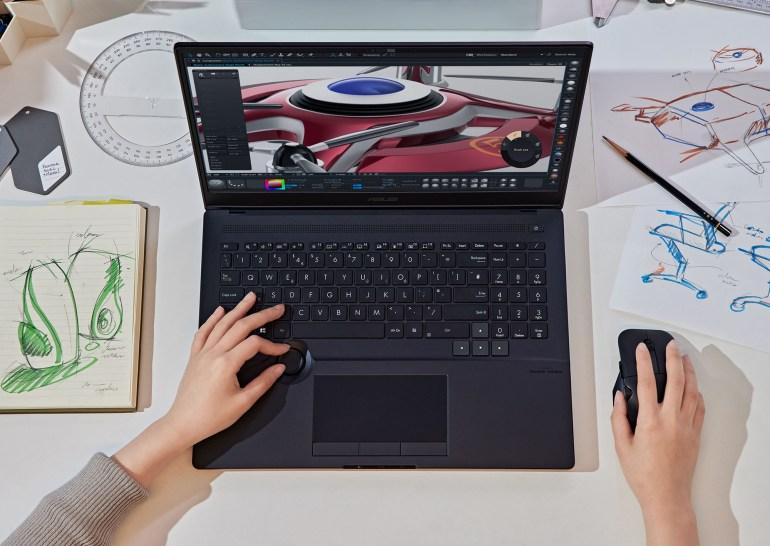 ASUS представила ноутбуки ProArt Studiobook, Zenbook Pro и Vivobook Pro для создателей медиаконтента