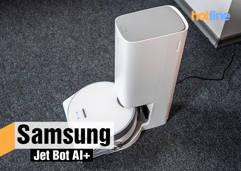 Видеообзор робота-пылесоса Samsung Jet Bot AI+ - ITC.ua