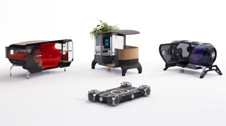 Видео дня: Французы представили концепт автономной электроплатформы Citroen Skate со сферическими колесами-двигателями и сменными модулями-кузовами