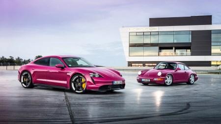На рынке США электромобиль Porsche Taycan вышел на третье место в структуре продаж бренда (впереди только кроссоверы Macan и Cayenne)
