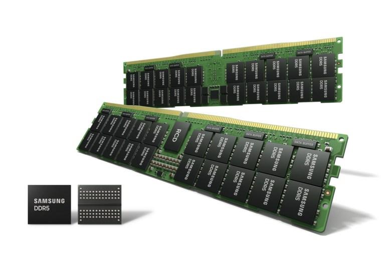 Samsung начала массовый выпуск памяти DDR5 — по техпроцессу 14-нм с использованием EUV-литографии
