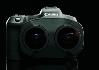 Canon анонсировала объектив с двумя линзами «рыбий глаз», предназначенный для съёмки 3D VR контента