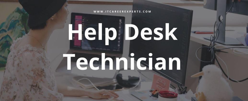 Help Desk Technician | IT Career Experts