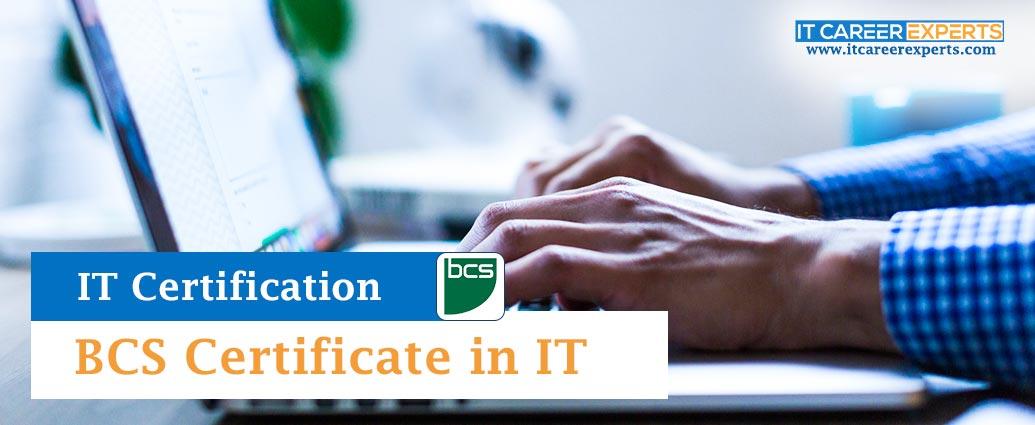 BCS Certificate in IT