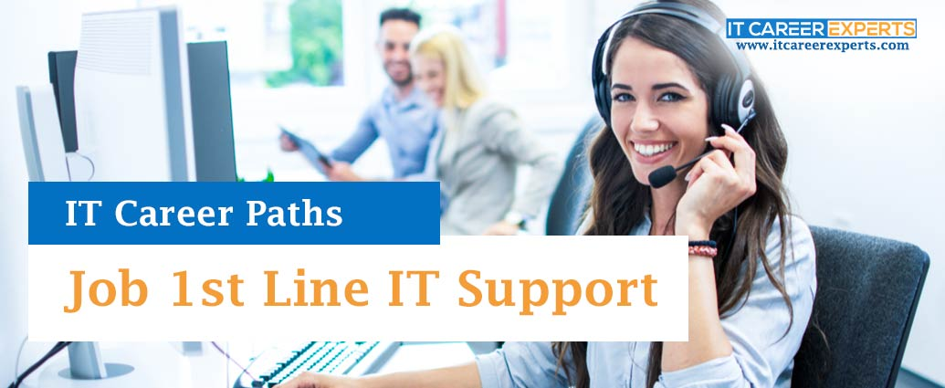 Job 1st Line IT Support