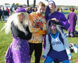 Eau Claire Memorial athletes would routinely show up to meets they weren't competing in dressed up a super fans. Their Cross Country team has 100 athletes every year. Going to State is an expectation. The EC Memorial girls have won the past two Division 1 State Cross Country titles in Wisconsin. Coach Mark Johnson has established a culture of fun and a culture of winning.