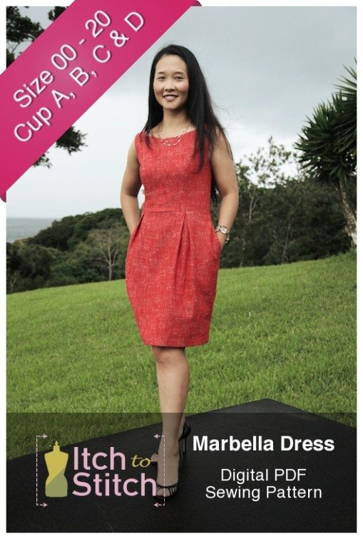 Marbella Dress Pattern by Itch to Stitch
