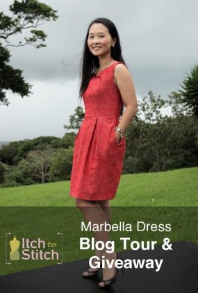 Marbella Dress PDF Sewing Pattern Blog Tour & Giveaway