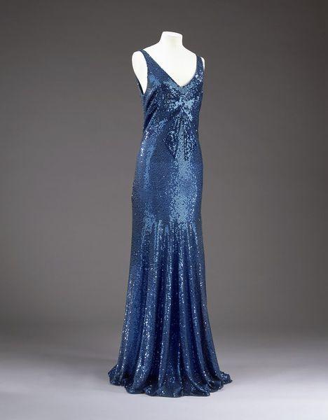 1932 Chanel Evening Dress