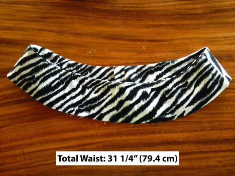 bias contour waist band experiment - linen