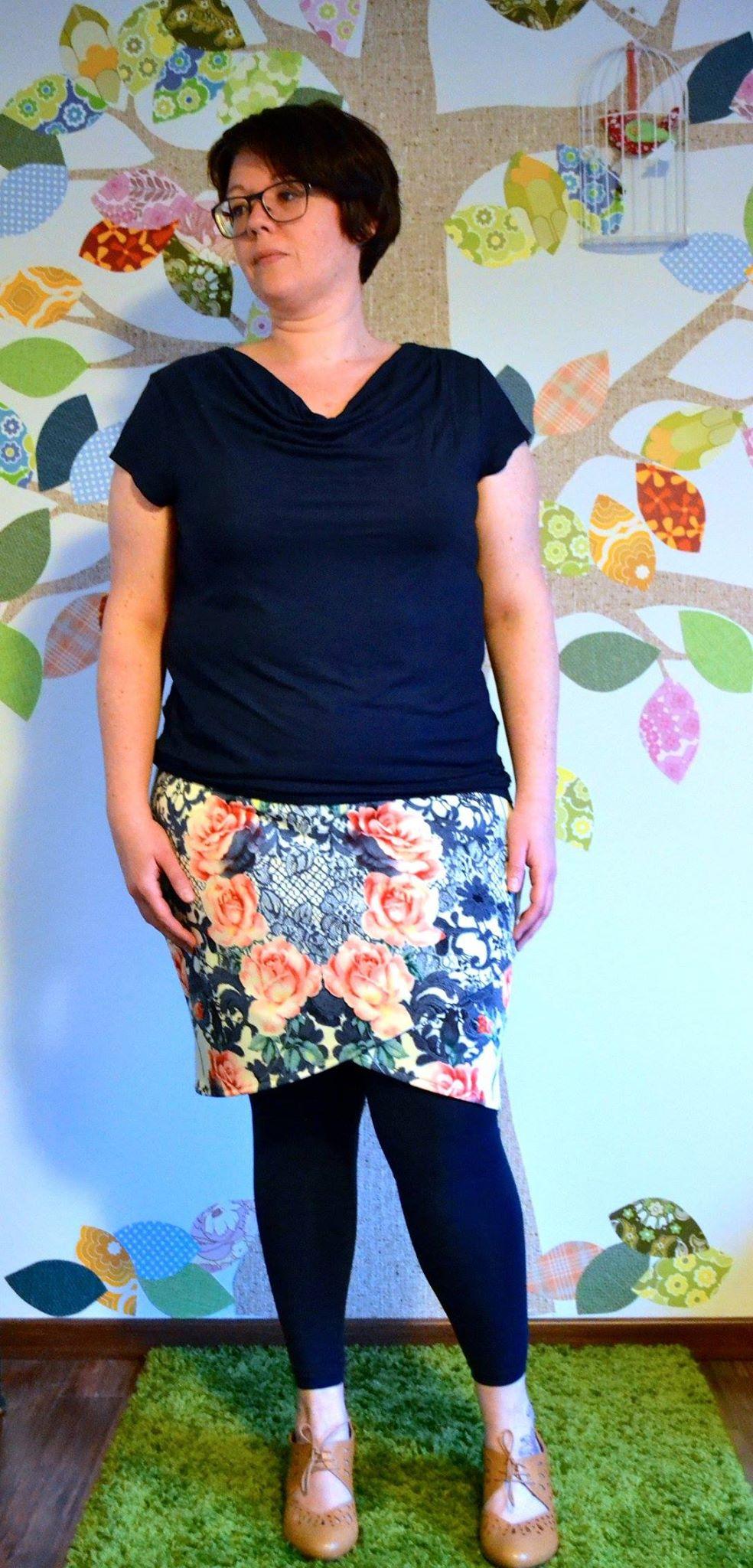 Marie-Paule's Lindy Petal Skirt