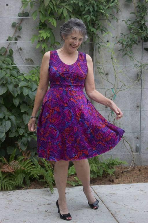 Itch to Stitch Davina Dress PDF Sewing Pattern - Perfect for Twirling!