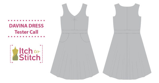 Davina Dress PDF Sewing Pattern Tester Call
