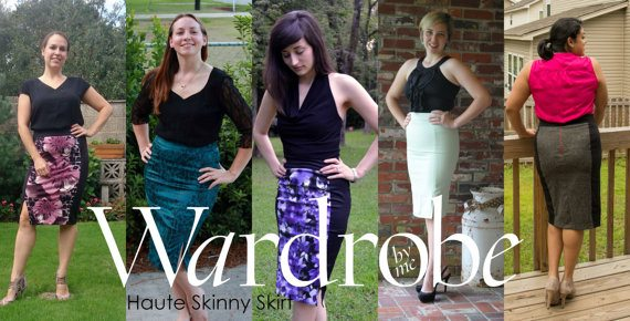 Itch to Stitch Birthday - Wardrobe by Me - Haute Skinny Skirt
