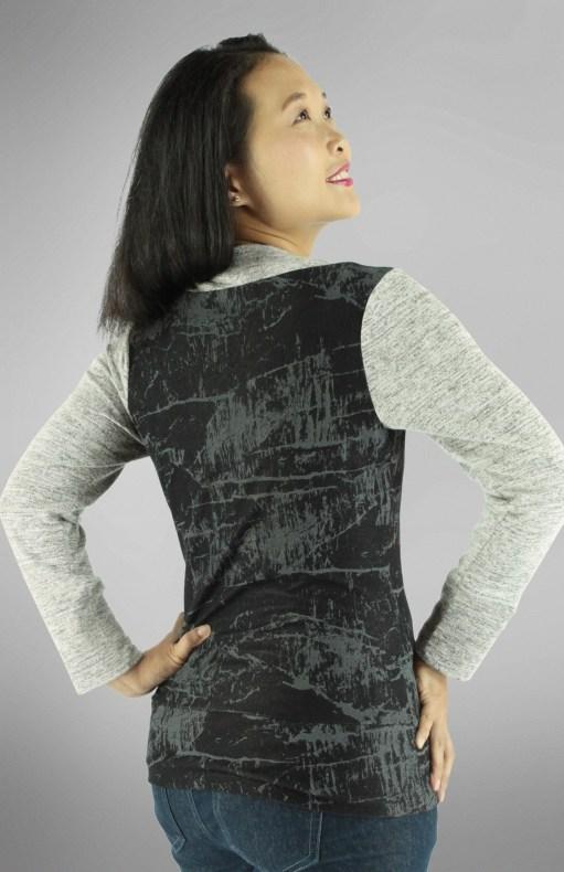 Irena Knit Top PDF Sewing Pattern Back