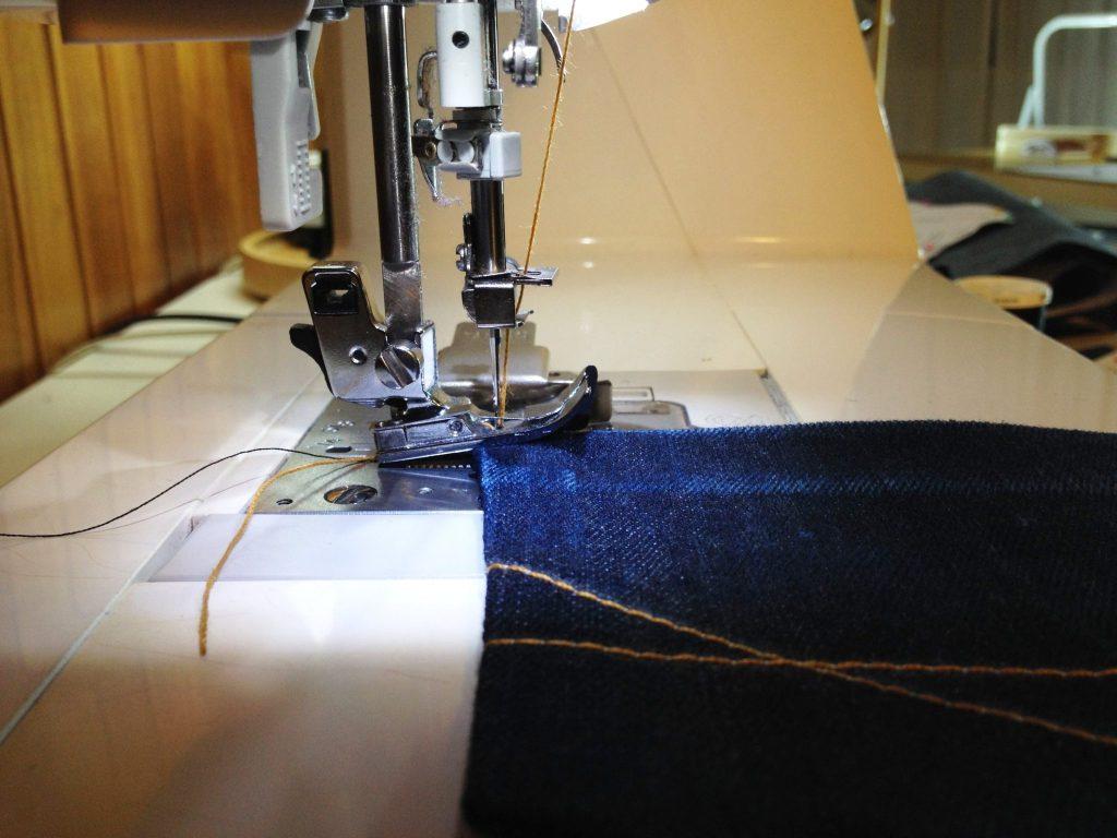 Liana Stretch Jeans Sewalong Day 6 Sew Thick Fabric
