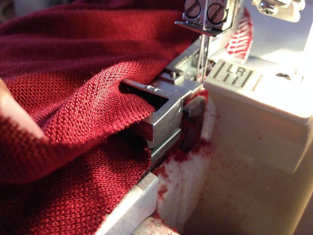Overlocker/Serger Shirring/Ruffling Foot