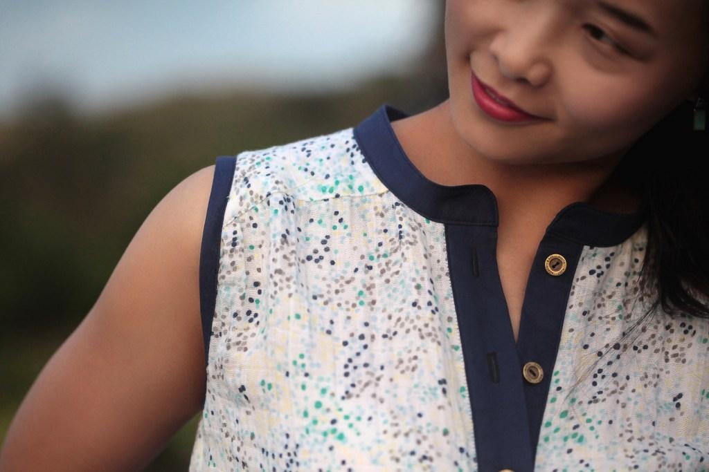 Style Maker Fabrics Spring Canvas Blog Tour - Mila Shirt & Emily Culottes
