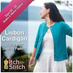 LisbonCardiganPDFSewingPattern250x250