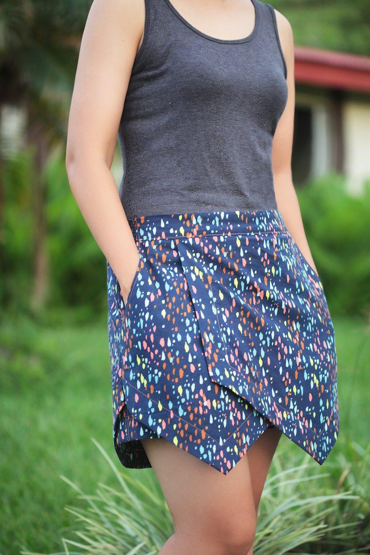 Itch to Stitch Belize Shorts & Skort