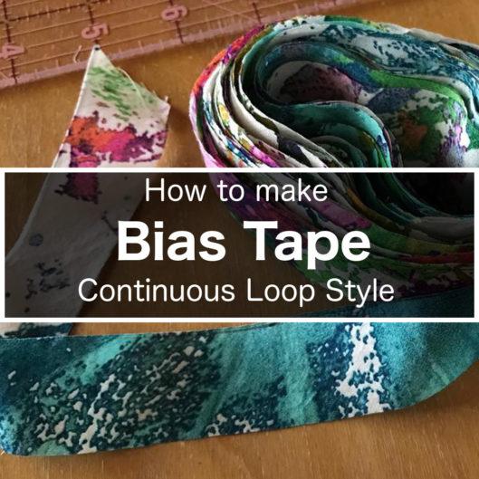 Bias Tape Continuous Loop