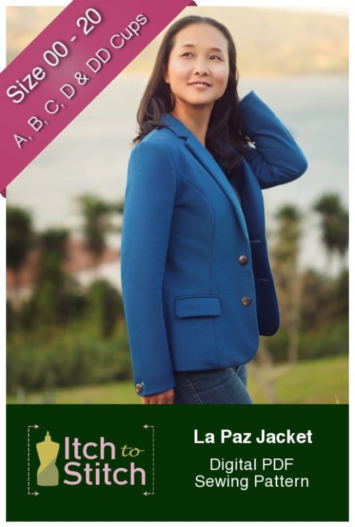 Itch to Stitch La Paz Jacket Sewing Pattern
