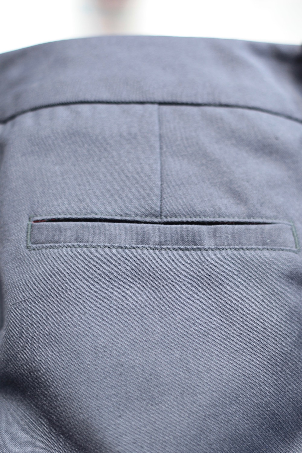 Itch to Stitch North Point Pants Back Welt Pocket