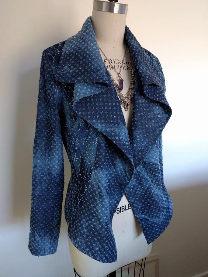 Itch to Stitch Hvar Jacket PDF Sewing Pattern