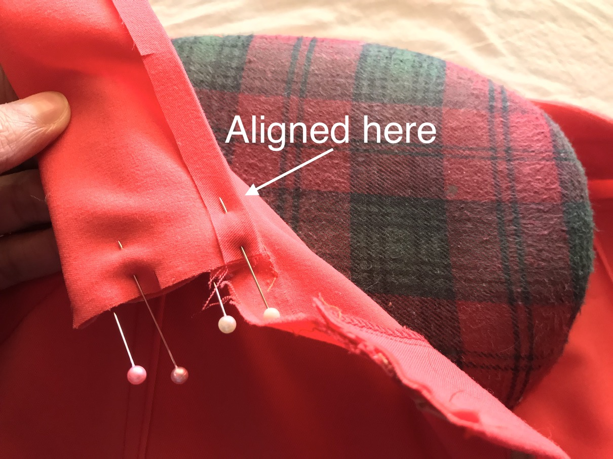 Front waistband tutorial of Sequoia Cargos & Shorts