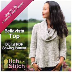 Bellavista Top PDF Sewing Pattern