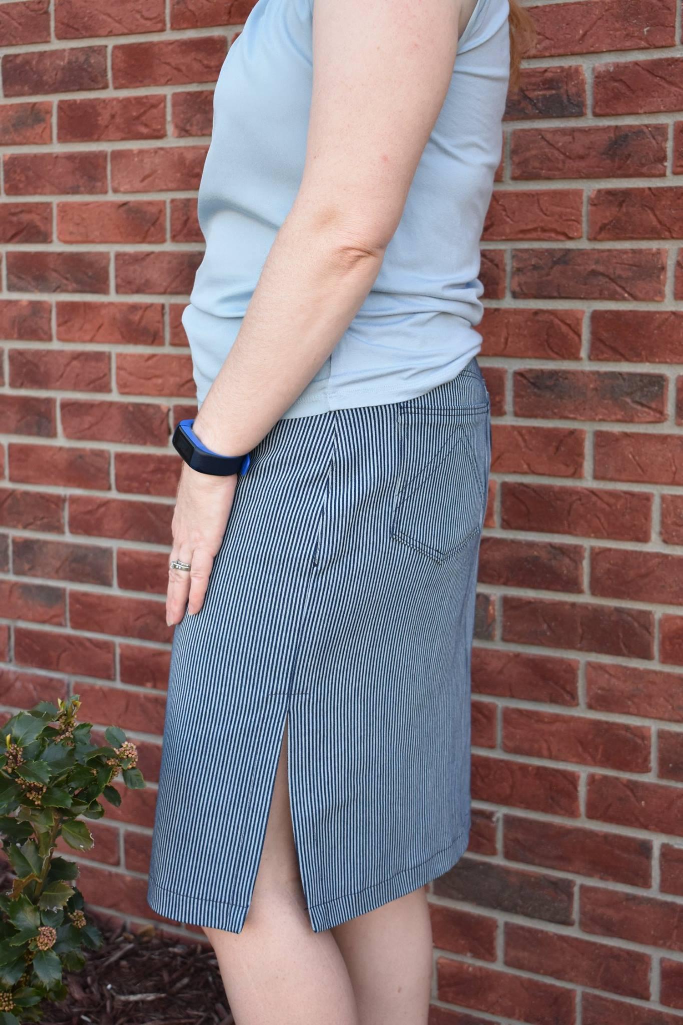 Itch to Stitch Danube Jean Skirt PDF Sewing Pattern