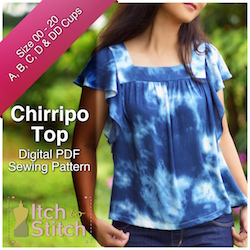 Chirripo Top PDF Sewing Pattern