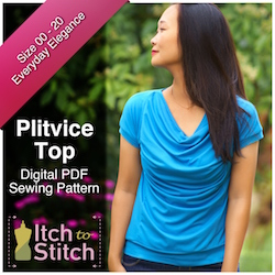 Plitvice Top PDF Sewing Pattern