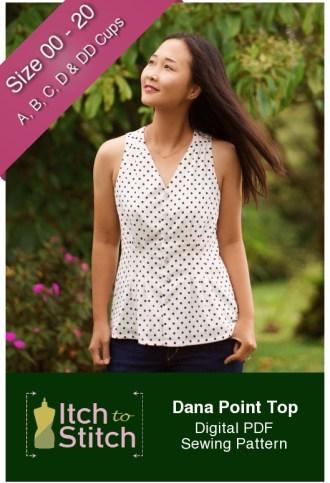 Itch to Stitch Dana Point Top PDF Sewing Pattern