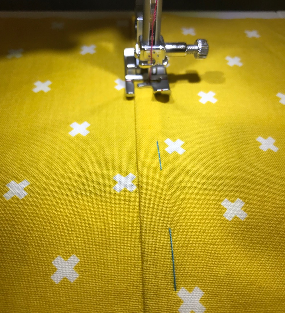 Flat felled seam tutorial
