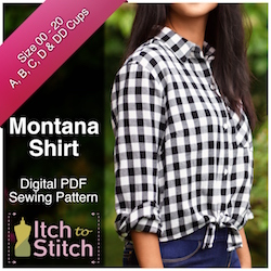 Montana Shirt PDF Sewing Pattern