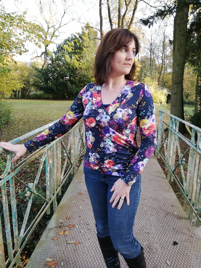 Itch to Stitch Medellin Top PDF Sewing Pattern