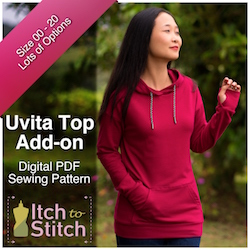Uvita Top Add-on PDF Sewing Pattern