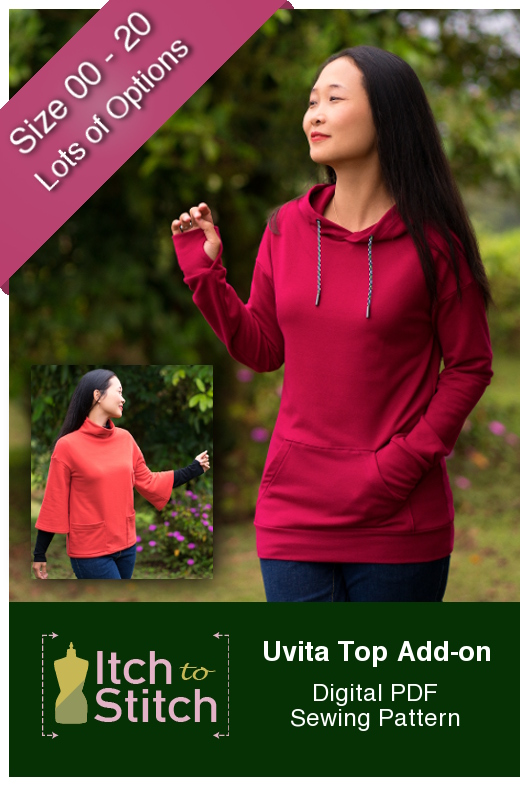 Uvita Top Add on PDF Sewing Pattern