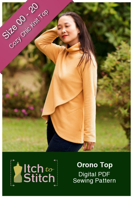 Itch to Stitch Orono Top PDF Sewing Pattern