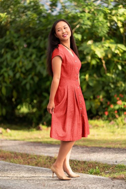 Itch to Stitch Kalispell Dress PDF Sewing Pattern 1