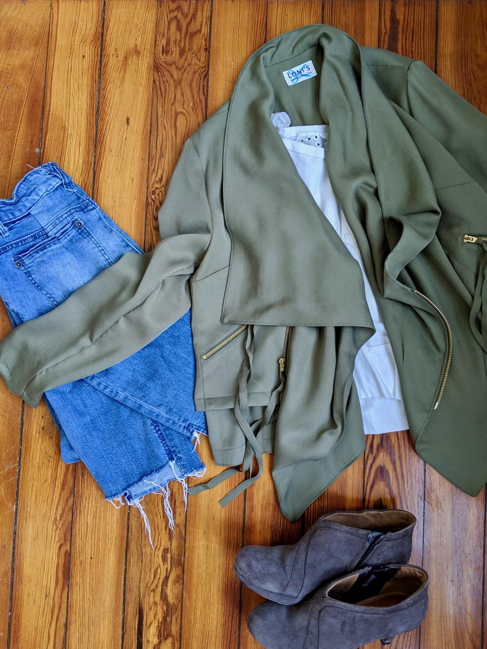 Itch to Stitch Make It Wear It Joni Hvar Jacket Flat Lay