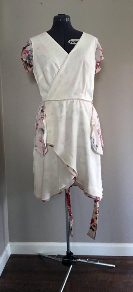 Make It Wear It Jaime Petaluma Faux Wrap Dress