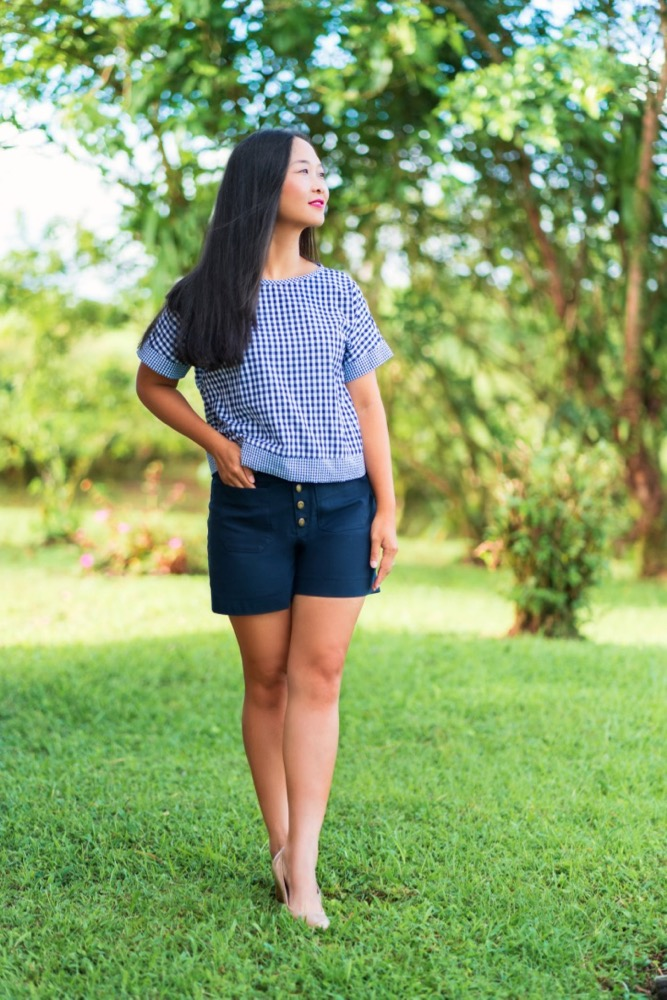 Itch to Stitch Hermosa Shorts PDF Sewing Pattern Short Length 3