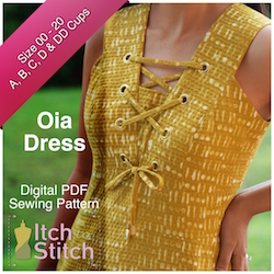 Oia Dress PDF Sewing Pattern