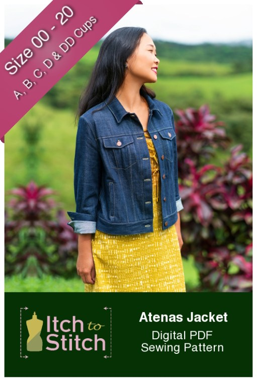 Itch to Stitch Atenas Jacket PDF Sewing Pattern